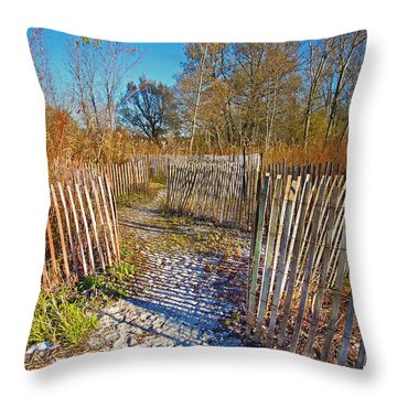 Serenity Trail.... Throw Pillow