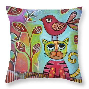 Seriously? Throw Pillow by Carla Bank