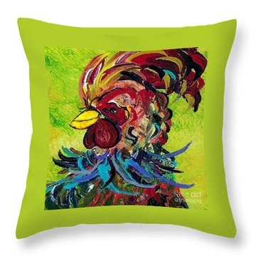 Seriously? Throw Pillow by Eloise Schneider