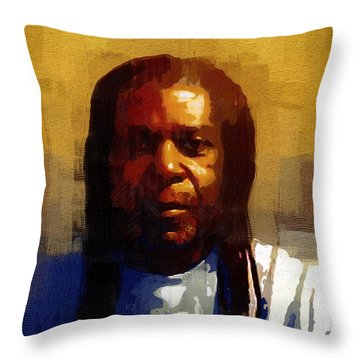 Seriously Now... Throw Pillow