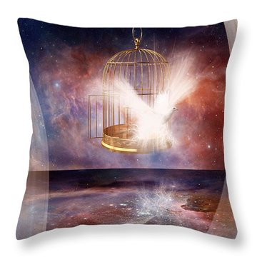 Set Free Throw Pillow