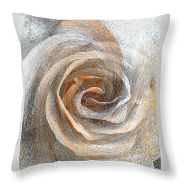 Throw Pillow featuring the photograph Set In Stone by Brooks Garten Hauschild