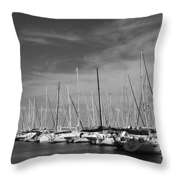 Set Sail Throw Pillow