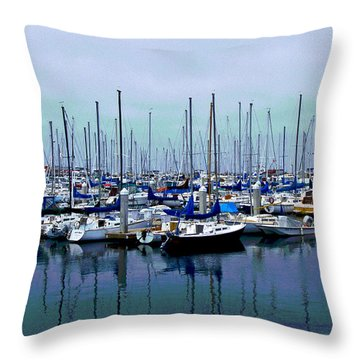 Settled Inn Throw Pillow