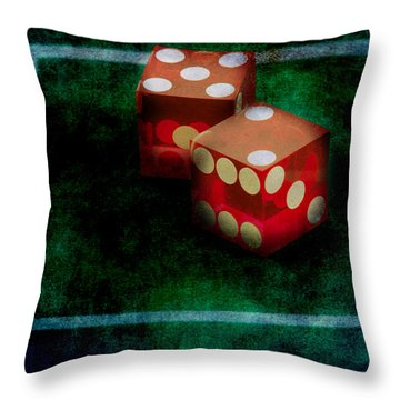 Throw Pillow featuring the photograph Seven by Gunter Nezhoda