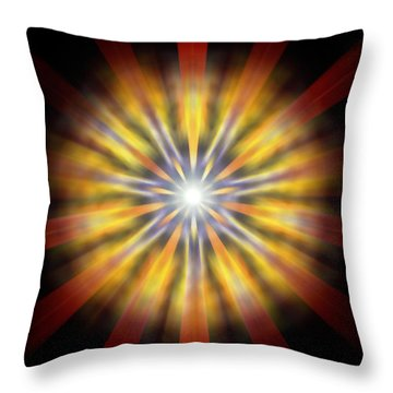 Seven Sistars Of Light Throw Pillow
