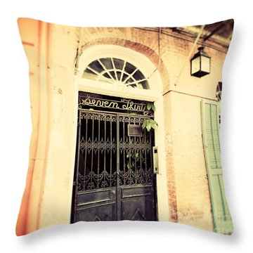 Seven Thirty Throw Pillow by Erin Johnson