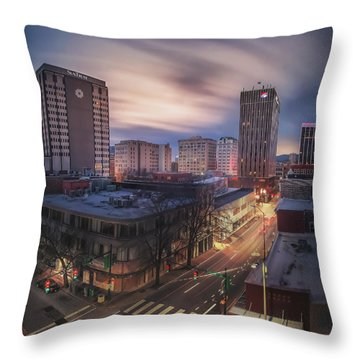 Seventh And Cherry Throw Pillow
