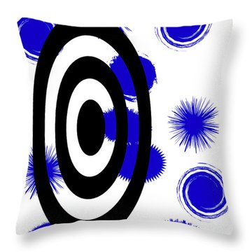 Several Misses Throw Pillow by Tina M Wenger