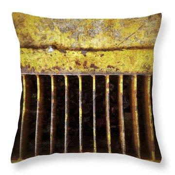 Sewage Alley Throw Pillow by Olivier Calas