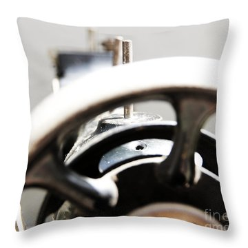 Sewing Machine 3 Throw Pillow