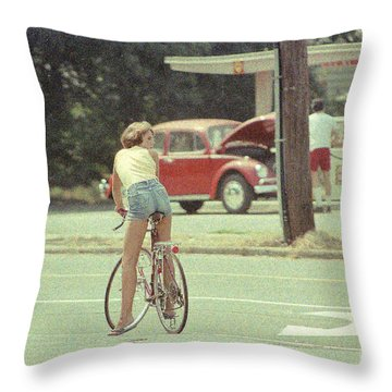 Throw Pillow featuring the photograph Sexy Bum by Steven Macanka