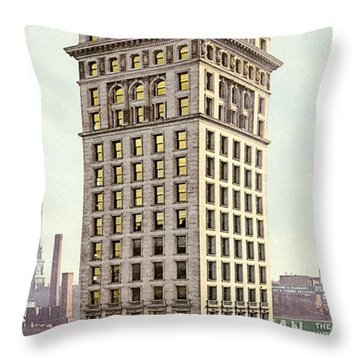 Sf Spreckels Building Throw Pillow