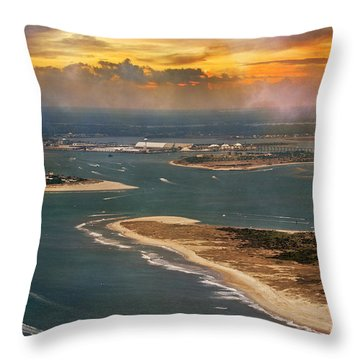 Shackleford Throw Pillows