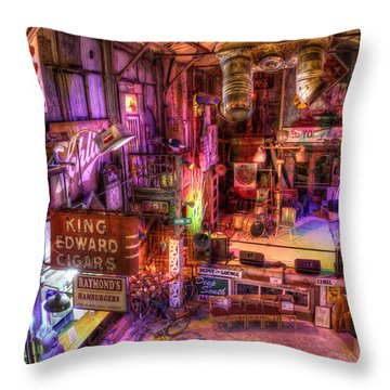 Shackup Inn Stage Throw Pillow