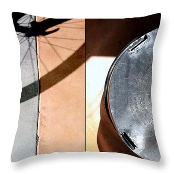 Shad O's Throw Pillow by Marlene Burns