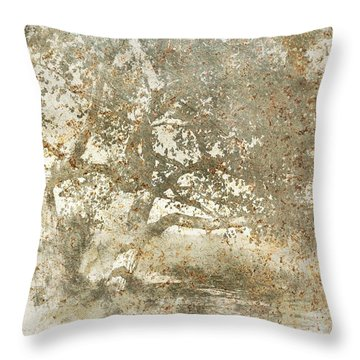 Shade Tree Throw Pillow by Brett Pfister
