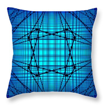 Shades 14 Throw Pillow by Mike McGlothlen