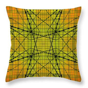 Shades 16 Throw Pillow by Mike McGlothlen