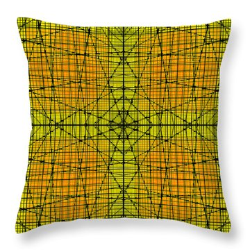 Shades 17 Throw Pillow by Mike McGlothlen