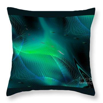 Ecstasy Throw Pillow by Yul Olaivar