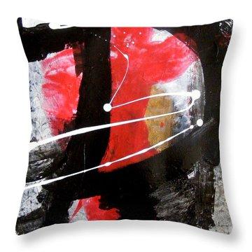 Shades Of Discourse Throw Pillow