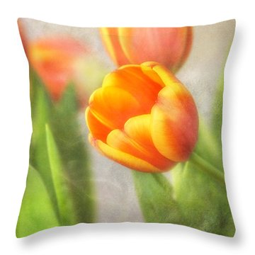 Shades Of Spring Throw Pillow