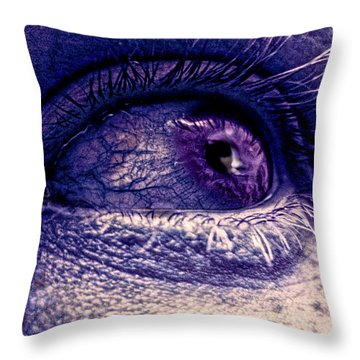 Shades Of Sympathy Throw Pillow