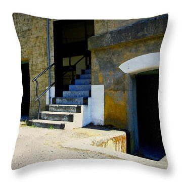 Shades Of The Past Throw Pillow