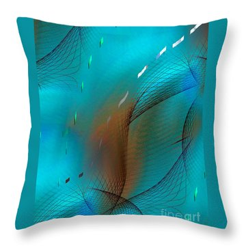 Movement Of Elegance Throw Pillow