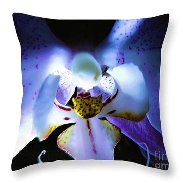 Shadow Dance Throw Pillow by Robyn King