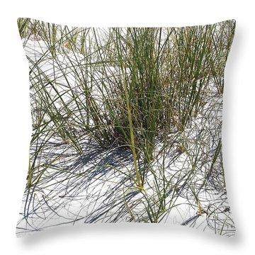 Shadow Grass Throw Pillow