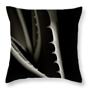 Shadow Maws Throw Pillow by Tim Good