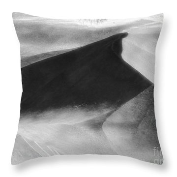 Shadow On The Land Throw Pillow