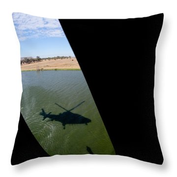 Shadow Rescue  Throw Pillow by Paul Job