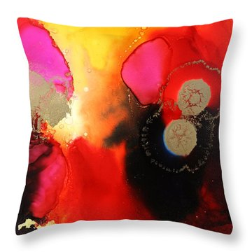 Shadow Side Throw Pillow by Tara Moorman