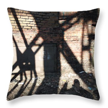 Shadowcat Throw Pillow