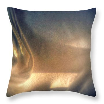 Throw Pillow featuring the photograph Shadowplay by Steven Huszar