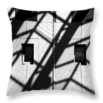 Shadows Canberra Throw Pillow by Steven Ralser