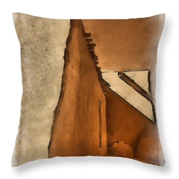 Shadows In Aquarell   Throw Pillow