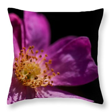 Shadows In My Heart Throw Pillow