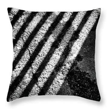 Shadows Throw Pillow by Jason Michael Roust