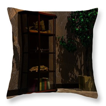 Shadows Throw Pillow by John Pangia