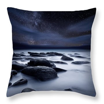 Shadows Of The Night Throw Pillow by Jorge Maia