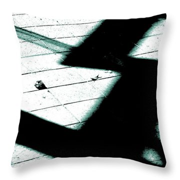 Shadows On The Floor  Throw Pillow by Steve Taylor
