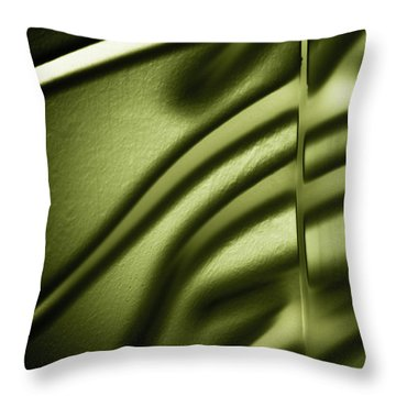 Shadows On Wall Throw Pillow by Darryl Dalton