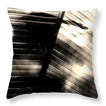 Throw Pillow featuring the photograph Shadows Symphony  by Jessica Shelton