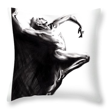 Shadowtwister Throw Pillow