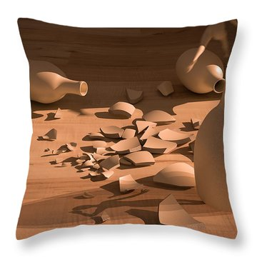 Shadowx Throw Pillow