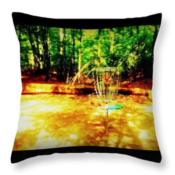 Shady Tee Throw Pillow
